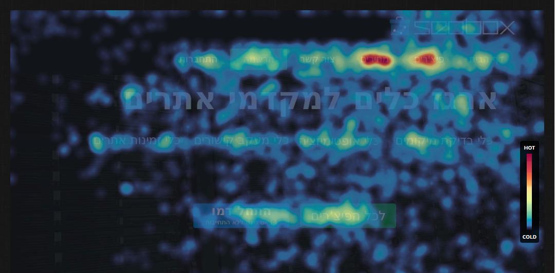 מפות חום תנועות עכבר