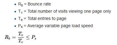 bounce rate לפי ויקיפדיה