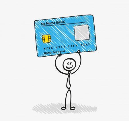 שימוש בכרטיסי אשראי